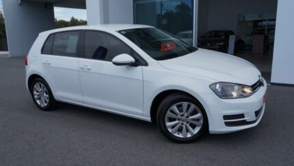 2014 Volkswagen Golf AU MY14 90 TSI Comfortline White 7 Speed Auto Direct Shift Hatchback Port Macquarie Port Macquarie City Preview