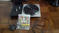 DJ Hero - Turntable & Game