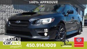 2015 Subaru WRX sport TOIT, BLUETOOTH, REG VITESSE *92$/sem / GT