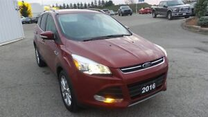 2016 Ford Escape Titanium, Pano Roof, Lthr, Nav Kitchener / Waterloo Kitchener Area image 7