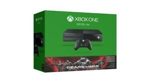 NEW, SEALED Xbox One 500GB Gears Of War Bundle & 2nd Controller