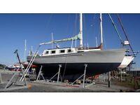 Ferro Cement Sailing Boat - Hartley 32' Queenslander