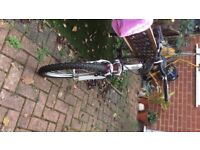 """Pink 20"""" Girl Cycle with Gear and Suspention"""