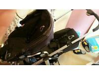 Icandy apple/pear double pushchair