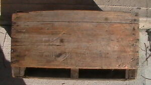 1873 Muskoka Dry Ginger Ale Wooden Crate Kitchener / Waterloo Kitchener Area image 3