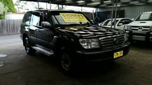 2003 Toyota Landcruiser UZJ100R GXL Black 5 Speed Automatic Wagon Five Dock Canada Bay Area Preview