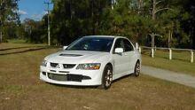 2003 Mitsubishi Lancer Evolution VIII White Manual Sedan Slacks Creek Logan Area Preview