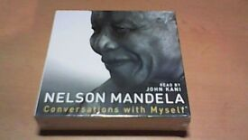 NELSON MANDELA-8CD AUDIOBOOK -NEW-SEALED-CONVERSATIONS WITH MYSELF