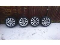 Genuine Vauxhall Insignia alloy wheels