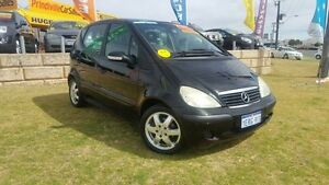 2004 Mercedes-Benz A160 W168 MY03.5 Classic Black 5 Speed Manual Auto-Clutch Hatchback Wangara Wanneroo Area Preview
