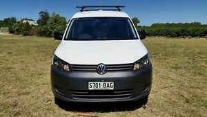 2013 Volkswagen Caddy 2KN MY13 TDI250 SWB DSG White 7 Speed Sports Automatic Dual Clutch Van Tanunda Barossa Area Preview
