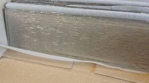 3x12 inches glass tiles $2 each. 75% off store price!