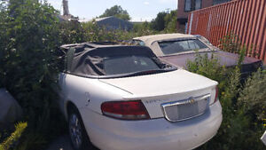 2004 Chrysler Sebring Convertible needs to be spruced up