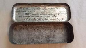 Antique OXO Cubes Tin Kingston Kingston Area image 2