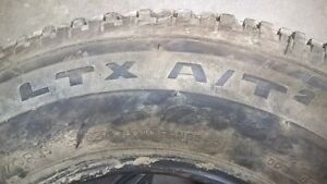 5 Tires - Michelin LTX A/T2 - 275/70 R18 M&S Prince George British Columbia image 2