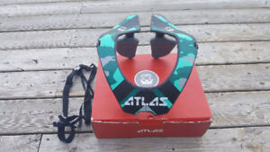 Atlas prodigy neck brace--Green camo