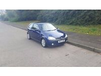 03 plate Vauxhall corsa, low MILAGE, Long MOT 1.2 PETROL, 2 owners from new