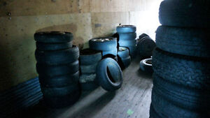Assorted 15 Inch Tires Some Winter some with Rims Starting $10