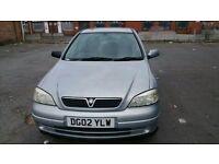Vauxhall Astra 2003 1.6 petrol 8 months MOT 100k 5 door ideal first car cheap to run.