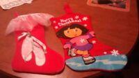 Christmas Stockings for little girls