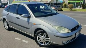 2004 Ford Focus LR MY2003 CL Grey 5 Speed Manual Hatchback Bungalow Cairns City Preview