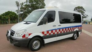 2007 Mercedes-Benz Sprinter 906 315 CDI MWB White 6 Speed Manual Van Condell Park Bankstown Area Preview