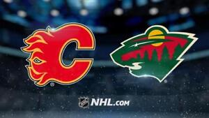 Flames VS Wild - 2 Tickets For Sale