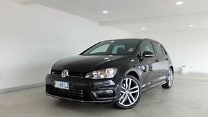 2016 Volkswagen Golf VII MY17 110TDI DSG Highline Black 6 Speed Sports Automatic Dual Clutch Hobart CBD Hobart City Preview
