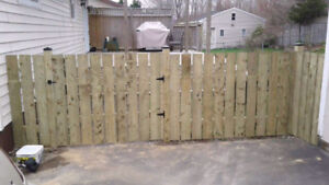 Do you need a fence installed? Call 2 Bros Contracting!!