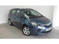 2015 64 VAUXHALL ZAFIRA TOURER 1.4 EXCLUSIV 5D 138 BHP ONLY 6600 MILES