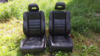 Black leather seats for 06-11 HONDA CIVIC or Acura CSX CHEEAP