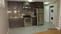 2 BR Kitchen Unfurnished Legal Basement Suit available for immed
