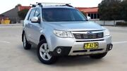 2008 Subaru Forester S3 MY09 XS AWD Premium Silver 5 Speed Manual Wagon Blacktown Blacktown Area Preview