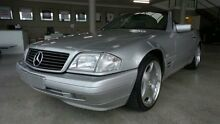 1997 Mercedes-Benz SL500 R129 Zircon Silver 5 Speed Automatic Roadster Burleigh Waters Gold Coast South Preview