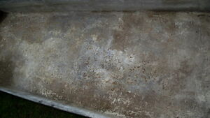old sap boiling pan 18 ft X 21 1/2 in X 8in. Also some spiles London Ontario image 3