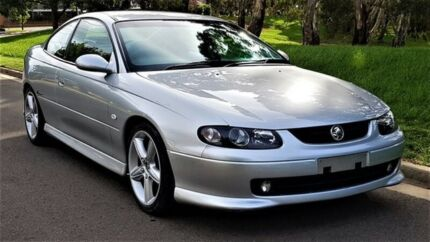 2002 Holden Monaro V2 Series II CV8 Silver 4 Speed Automatic Coupe Underdale West Torrens Area Preview