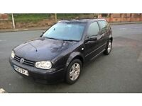 VOLKSWAGEN GOLF 1.9 GT TDI 130 (black) 2004