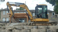 LANDSCAPING, EXCAVATING, TRACK LOADER & EXCAVATOR SERVICES
