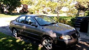 Lower price for a quick sale! Nissan Sentra 2005, manual