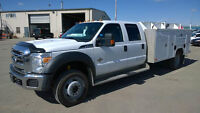 2012 Ford Crew Cab 4X4 Service Truck Priced to Sell!!!!