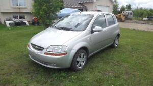 2008 Chevrolet Aveo Hatchback LOW KMS with **Safety** Need Gone