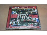LITTLE BRITAIN 2CD SET SIGNED BY DAVID WALLIAMS & MATT LUCAS