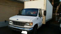 1996 Ford E-350 Cube Truck