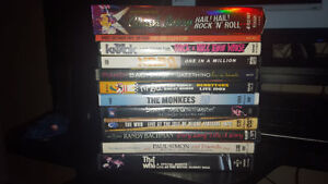 for sale classic rock dvd's