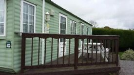 sited static caravan in cockermouth