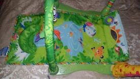 Fisher Price rain forest baby play mat