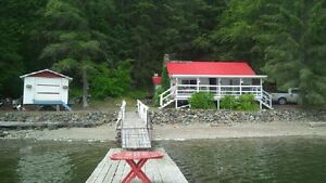 Adams lake cabin cottage for rent