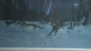Randy Fehr Under the Arctic Lights Lithograph Kitchener / Waterloo Kitchener Area image 2