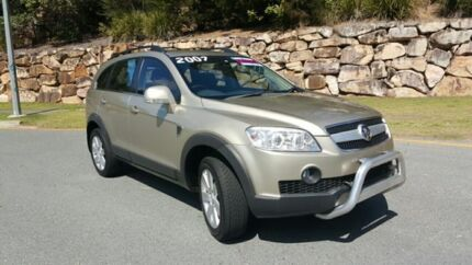 2007 Holden Captiva CG LX Gold 5 Speed Automatic Wagon Nerang Gold Coast West Preview