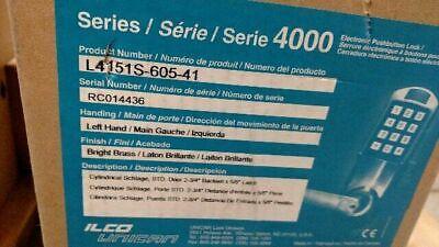 Kaba Simplex Ilco L4151s-605-41 Nos 4000 Series Schlage Lfic Lcore Pol Brass